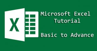 Microsoft Excel Tutorial for Beginners